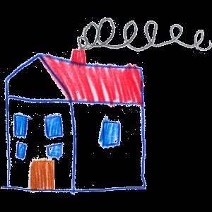 LEOS Dresden gemaltes Haus