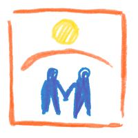 LEOS Dresden gemaltes Logo